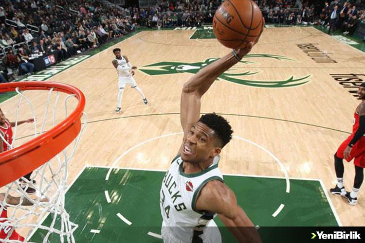 NBA'DE BUCKS GALİBİYET SERİSİNİ 6 MAÇA ÇIKARDI