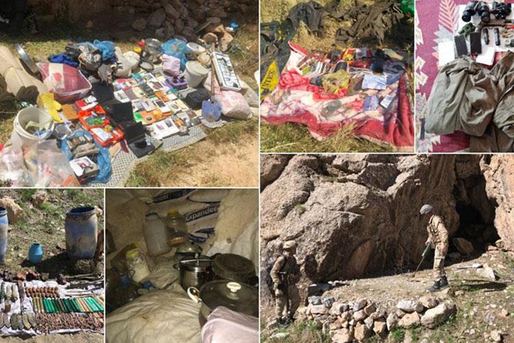 JANDARMA VE EMNİYET BİRİMLERİNDEN PKK'YA AĞIR DARBE